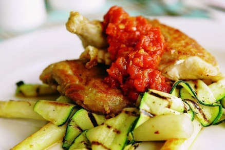 Kuře s pikantní salsou