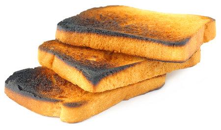 Spálený toast