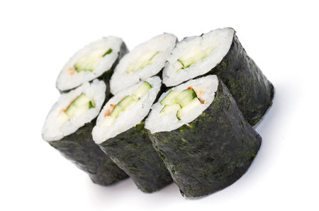 Maki sushi s okurkou