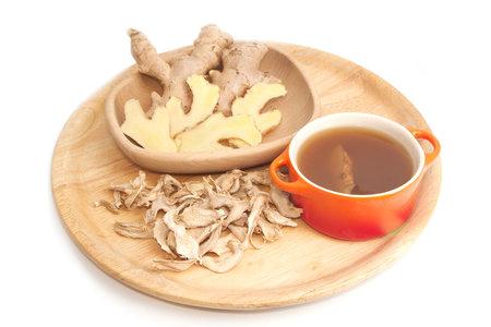 Na zahřátí dobře pomůže zázvorový čaj.