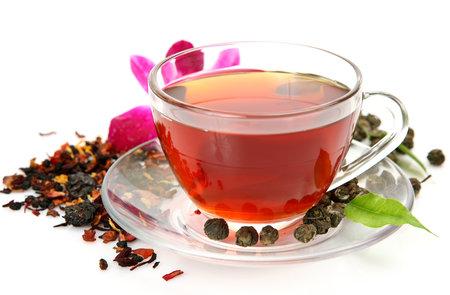 Výhoda vlastního pečeného čaje je v tom, že si na něj vyberete ovoce, které vám nejvíc chutná.