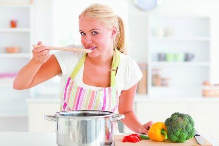 žena, vaření