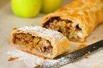 5 triků, jak upéct nejlepší jablečný štrúdl, který se netrhá