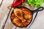 Kuře s rajčaty