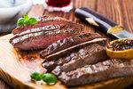 Steak z hovězího pupku