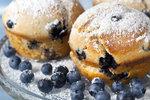 Jednoduché borůvkové muffiny
