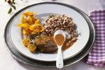 Steaky z divočáka se šípkovou omáčkou