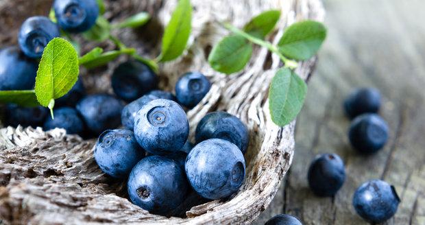Borůvky jsou plné antioxidantů