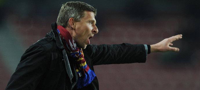 Sparťanský trenér Martin Hašek si z Chovancovy kritiky hlavu nedělá