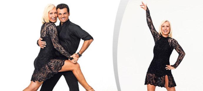 Když Martina Navrátilová oblékne šaty, je to opravdu hříšný tanec!