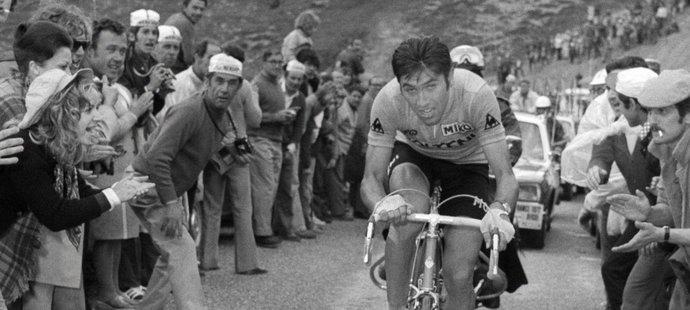 Eddy Merckx, legendární belgický cyklista