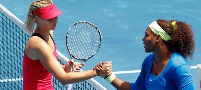 Maria Šarapovová po prohraném finále Turnaje mistryň se Serenou Williams