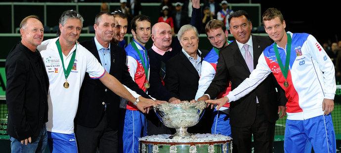 Vítězové Davis Cupu 2012 a 1980: Zrodily se nové legendy