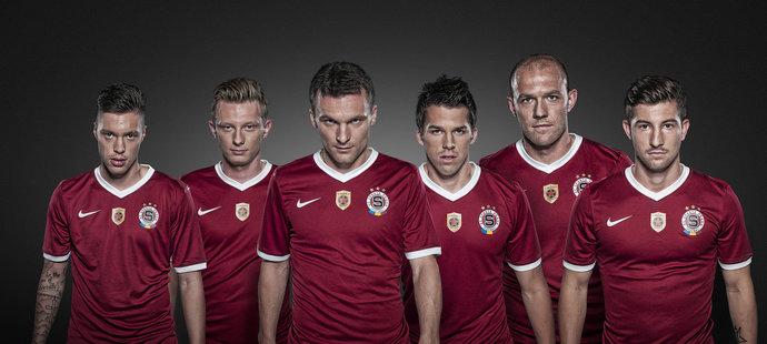 Fotbalová Sparta představila nový domácí dres. 18f9f245de