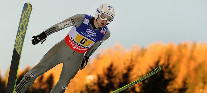 Janda v Kuopiu skokem dlouhým 135,5 metru vyrovnal rekord můstku.