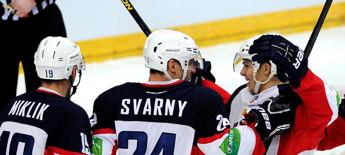 Zdá se, že Slovan i nadále bude hrát v KHL. (archivní foto)