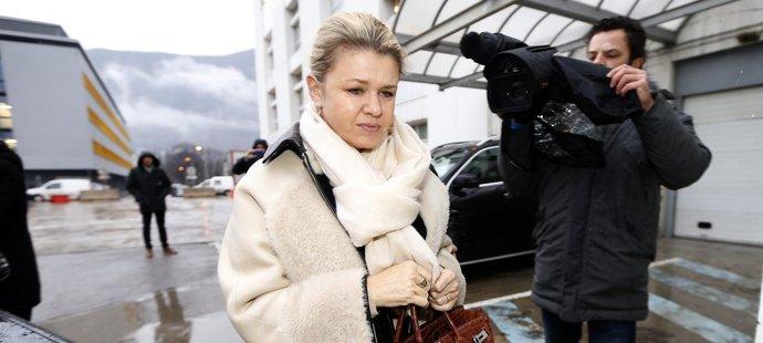 I Schumacherova manželka Corinna prožívá nejtěžší chvíle svého života