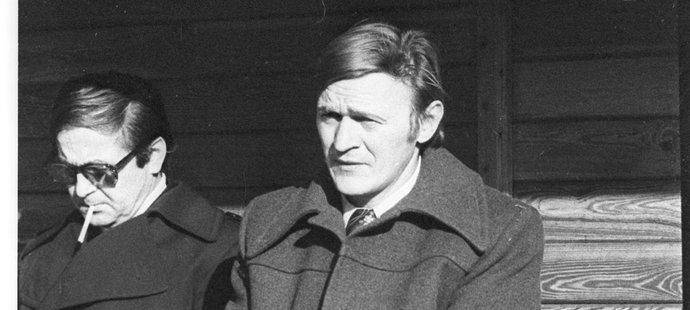 Bratr Aloise Hadamczika Evžen dovedl Baník ke dvěma titulům