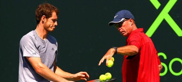 Ivan Lendl po dvou letech končí s trénováním Andyho Murrayho