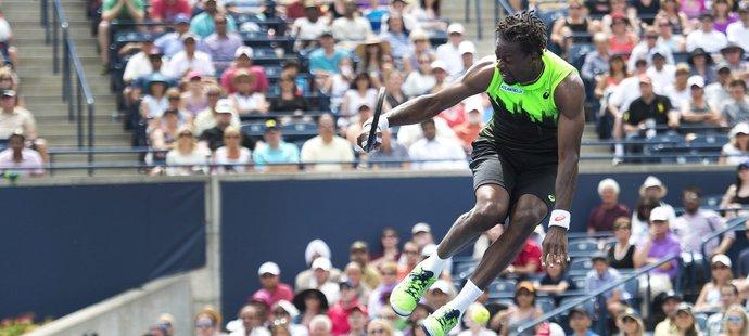 Monfils baví diváky nejen tenisem.