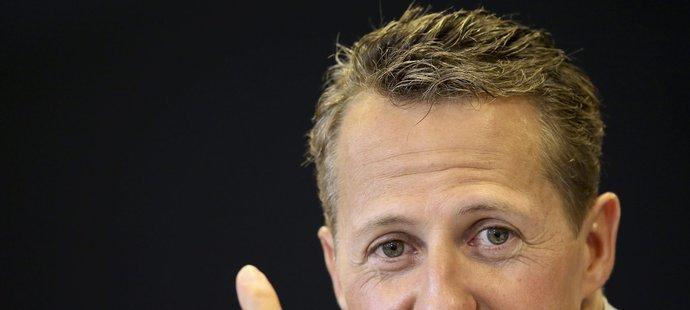 O stavu Michaela Schumachera se stále nic neví