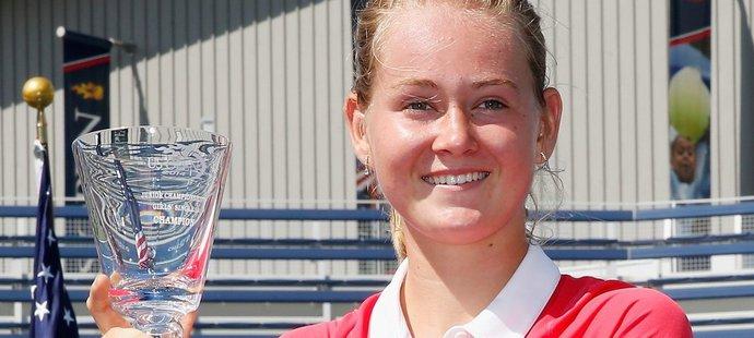 Marie Bouzková předváděla na juniorském US Open skvělé výkony