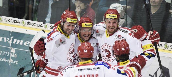 Polanského formace zařídila vítěznou branku.