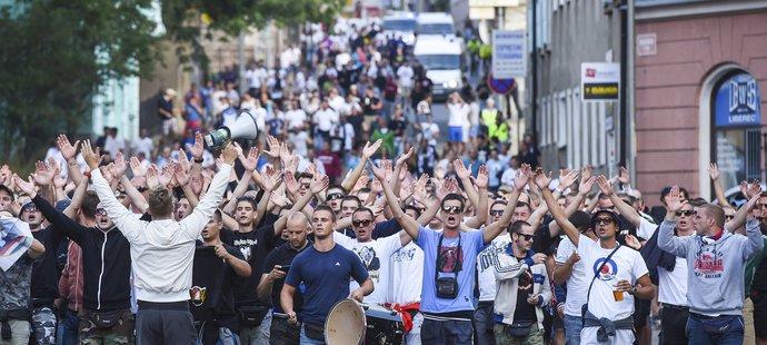Fanoušci Hajduku byli pořádně hlasití už minulý týden v Liberci.
