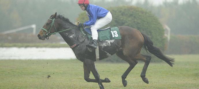 Jan Kratochvíl na svém koni (archivní foto)