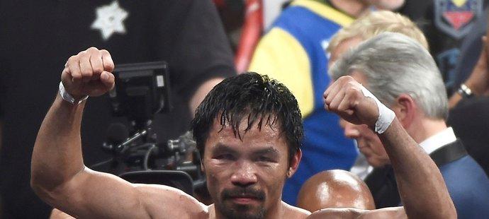 20. místo: Manny Pacquiao (Filipíny/box) kariérní výdělek 10,68 mld. korun (v přepočtu)