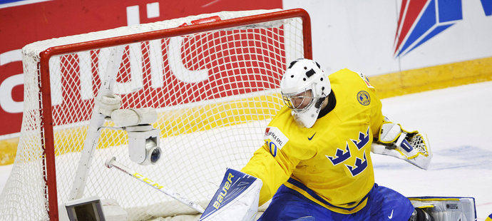 Linus Söderström chytal na turnaji už před rokem