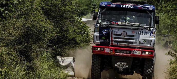 Kolomý ovládl třetí etapu na Dakaru