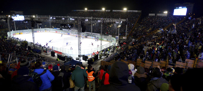 Na Open Air utkání Brna se Spartou přišlo plno fanoušků