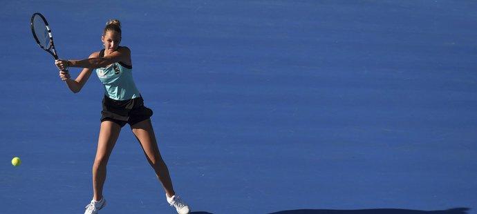 Plíšková si v Sydney za necelou hodinu zajistila čtvrtfinále