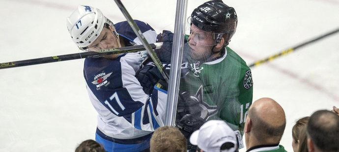 Radek Faksa má zatím v NHL na kontě jednu branku