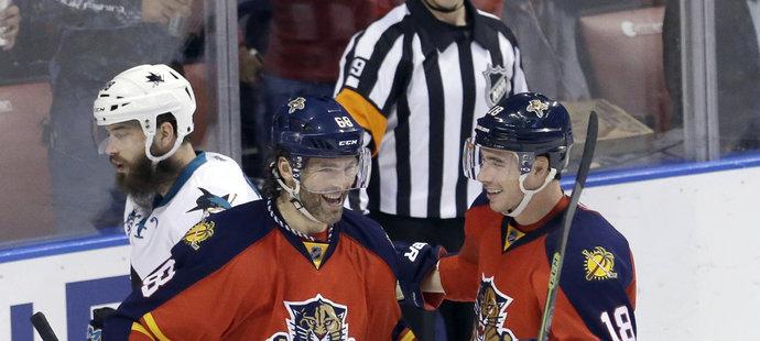 Jaromír Jágr vstřelil ve čtvrtečním utkání proti San Jose svůj 740. gól v NHL