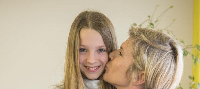 Neumannová s dcerou Luckou.