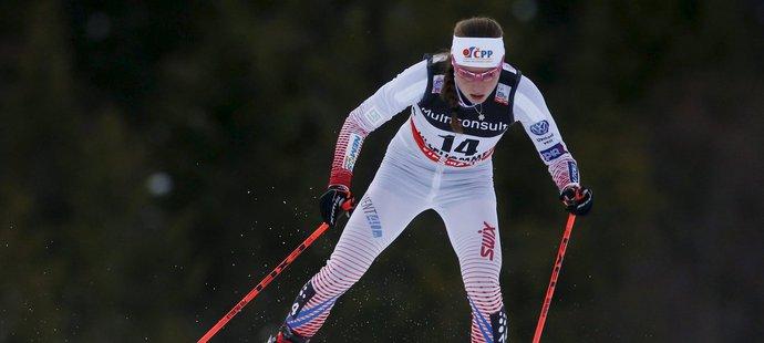 Lyžařka Petra Nováková doběhla ve stíhacím závodu na 10 km volnou technikou v Québecu čtrnáctá(archivní foto)