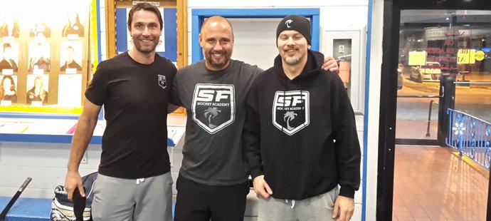 Tomáš Vokoun, Radek Dvořák a Petr Sýkora na Floridě rozběhli hokejovou akademii