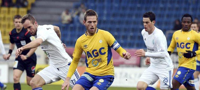 Zkušený záložník Štěpán Vachoušek si zahrál poslední zápas v útoku
