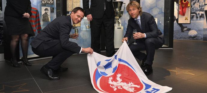 Pavel Nedvěd byl slavnostně uvedený do Síně slávy českého fotbalu