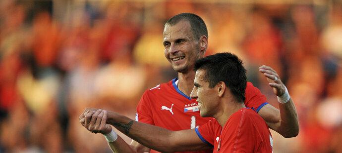 David Rozehnal a Milan Baroš svého času patřili k pilířům českého národního týmu