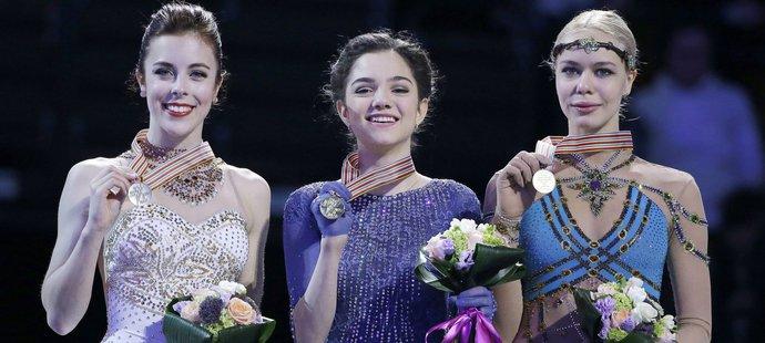 Šestnáctiletá Medveděvová vyhrála se světovým rekordem