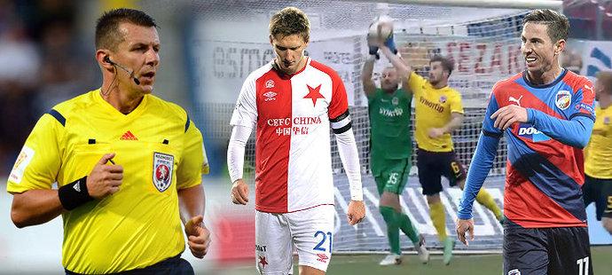 Rozhodčí Michal Paták už výrazně promluvil do průběhu několika zápasů v této sezoně