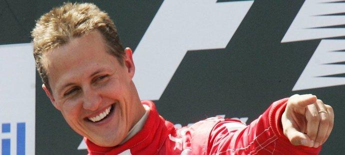 Takhle slavil Michael Schumacher
