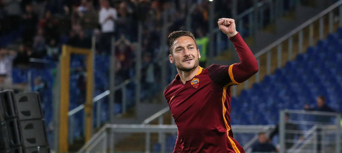 Francesco Totti z AS Řím