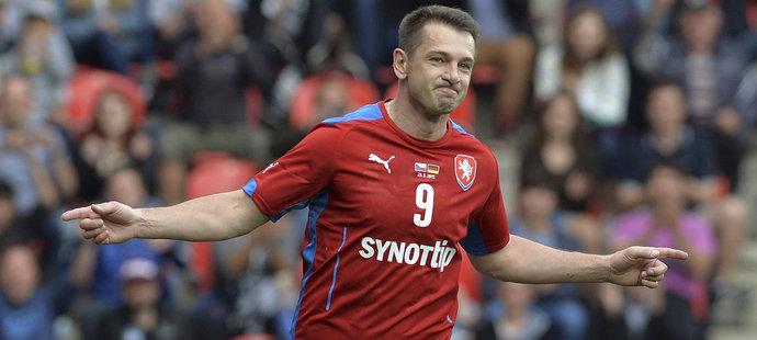 Pavel Kuka v reprezentačním dresu (archivní foto)