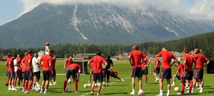 Slavia na soustředění v Rakousku v roce 2009