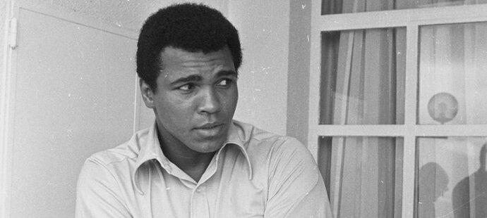 Muhammad Ali se stal nejslavnějším boxerem historie
