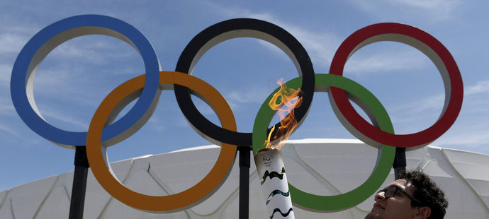Olympijský oheň je už v Brazílii